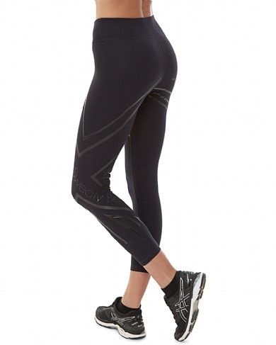 presenting get online top fashion Sweaty Betty - Power 7/8 Matte Union Jack Leggings - black ...