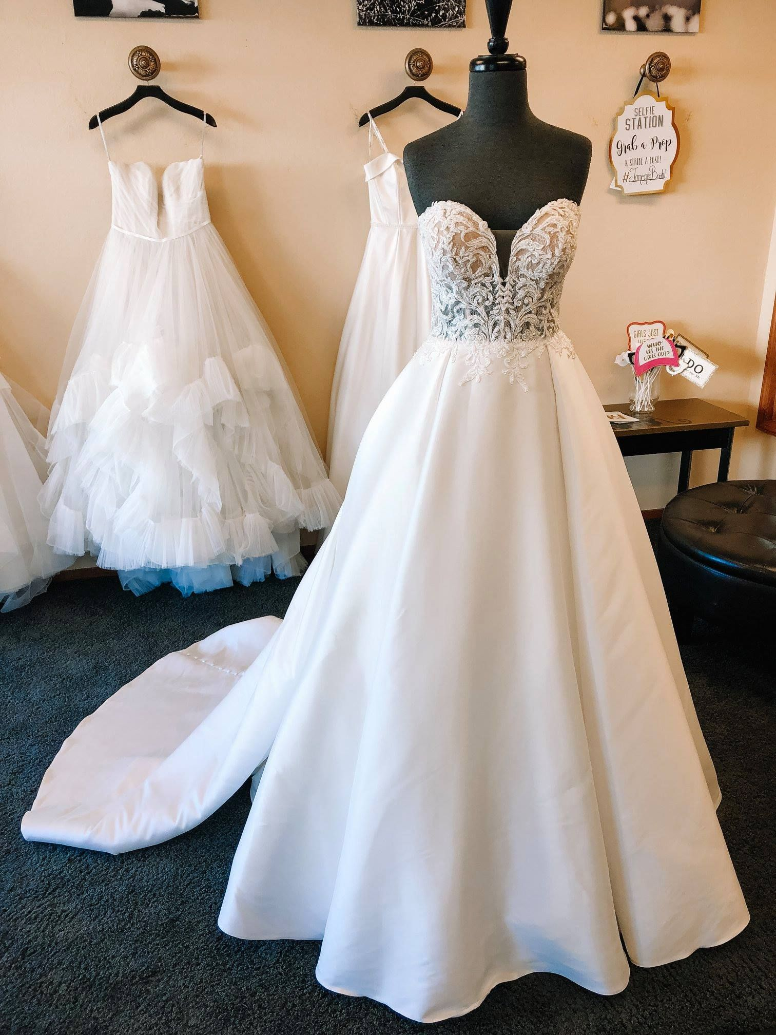 This Weeks Featured Dress Is D2486 From Essense Of Australia Bring Your Fairytale To Life In This Modern Ballgow Bridal Boutique Wedding Dress Shopping Bridal