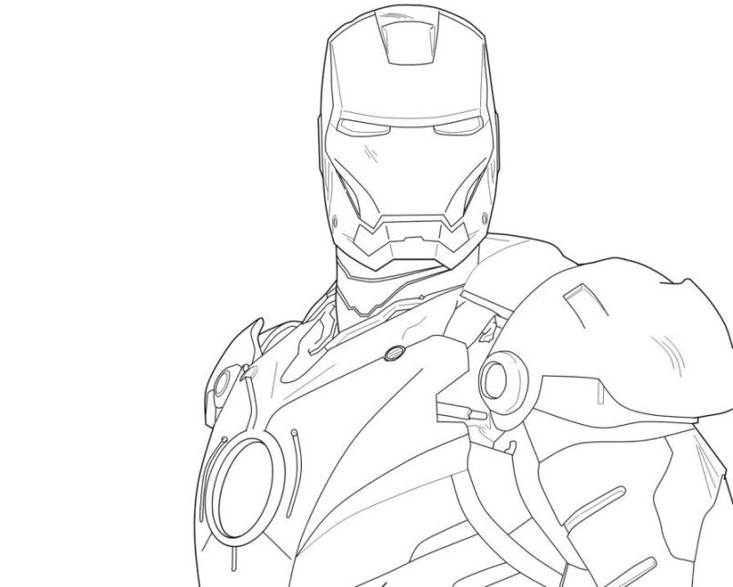 Avengers Iron Man 3 Coloring Pages Boys Superheroes Free Online And Printable