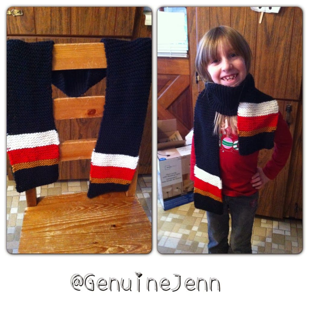 Ottawa Senators inspired Knitting Pattern | Knitting | Pinterest ...