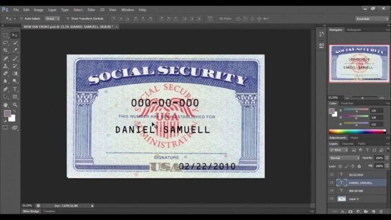 Pdf Social Security Card Template Regarding Blank Social Security Card Template Download In 2020 Card Templates Free Business Card Template Word Social Security Card