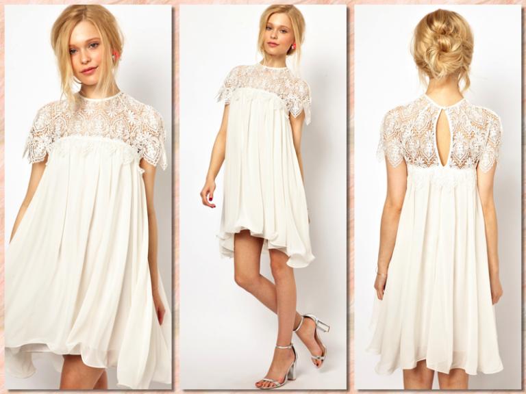 Vestidos de novia para presupuestos low cost | Bohemia | Pinterest ...