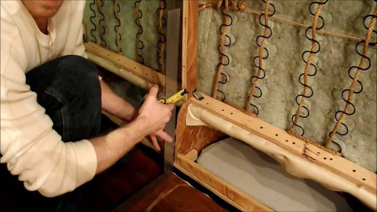 Diy How To Repair A Broken Couch Sofa Add Legs
