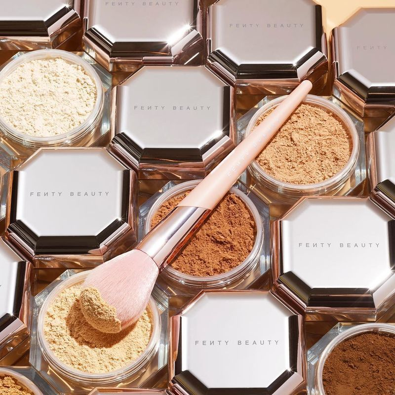 Inclusive Setting Powders  Fenty Beautys Pro Filtr Setting Powder Boasts Eight Translucent Shades  Beauty Inclusive Setting Powders
