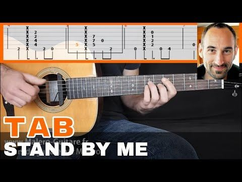 Stand By Me Guitar Tab Youtube Guitarchords Gitar Pinterest