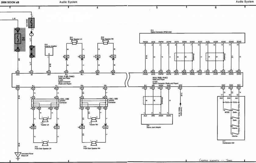 2006 Scion Tc Electrical Wiring Diagram Manual And Scion Xb Fuse Diagram Wiring Diagrams Folder Scion Xb Scion Toyota Scion Tc