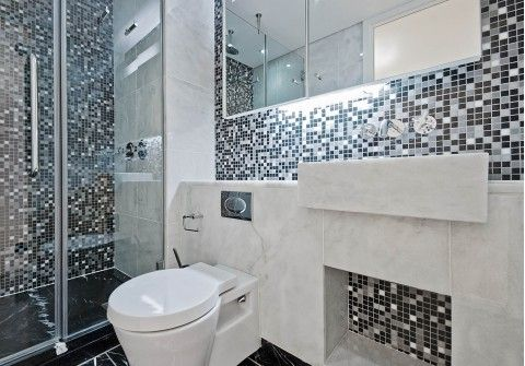 Mosaic And Feature Tiles Bathroom Pinterest Feature