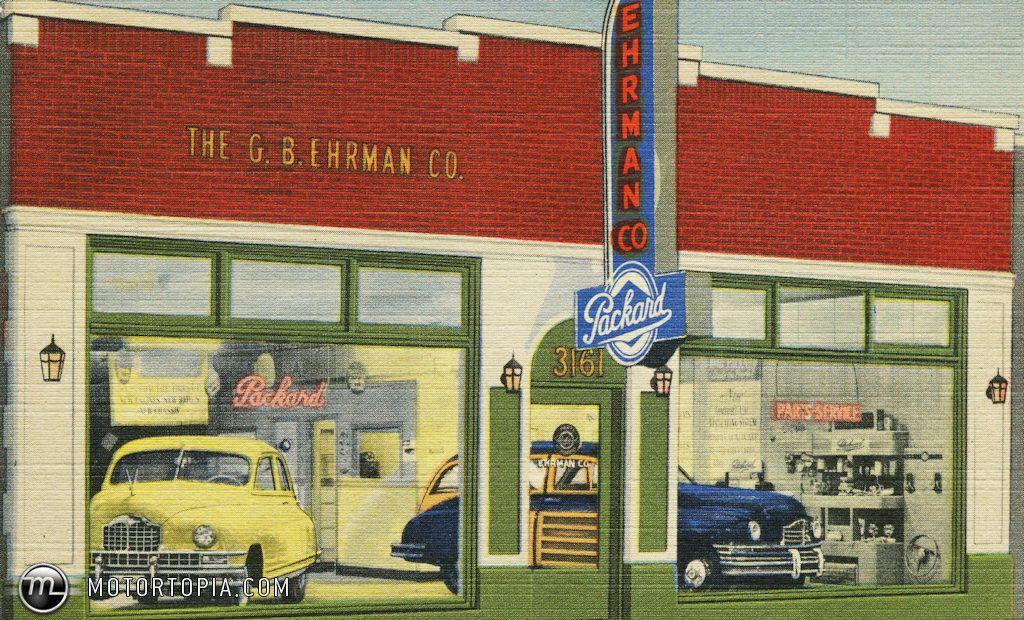 Packard Dealership Car dealership, Packard, Dealership