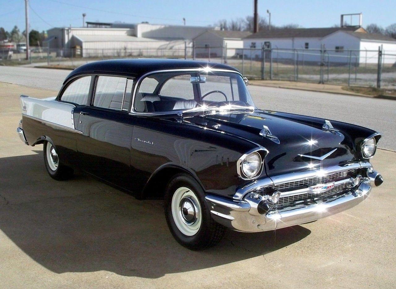 Black widow 57 150 fuel injected two door post for 1957 black widow 150 two door sedan