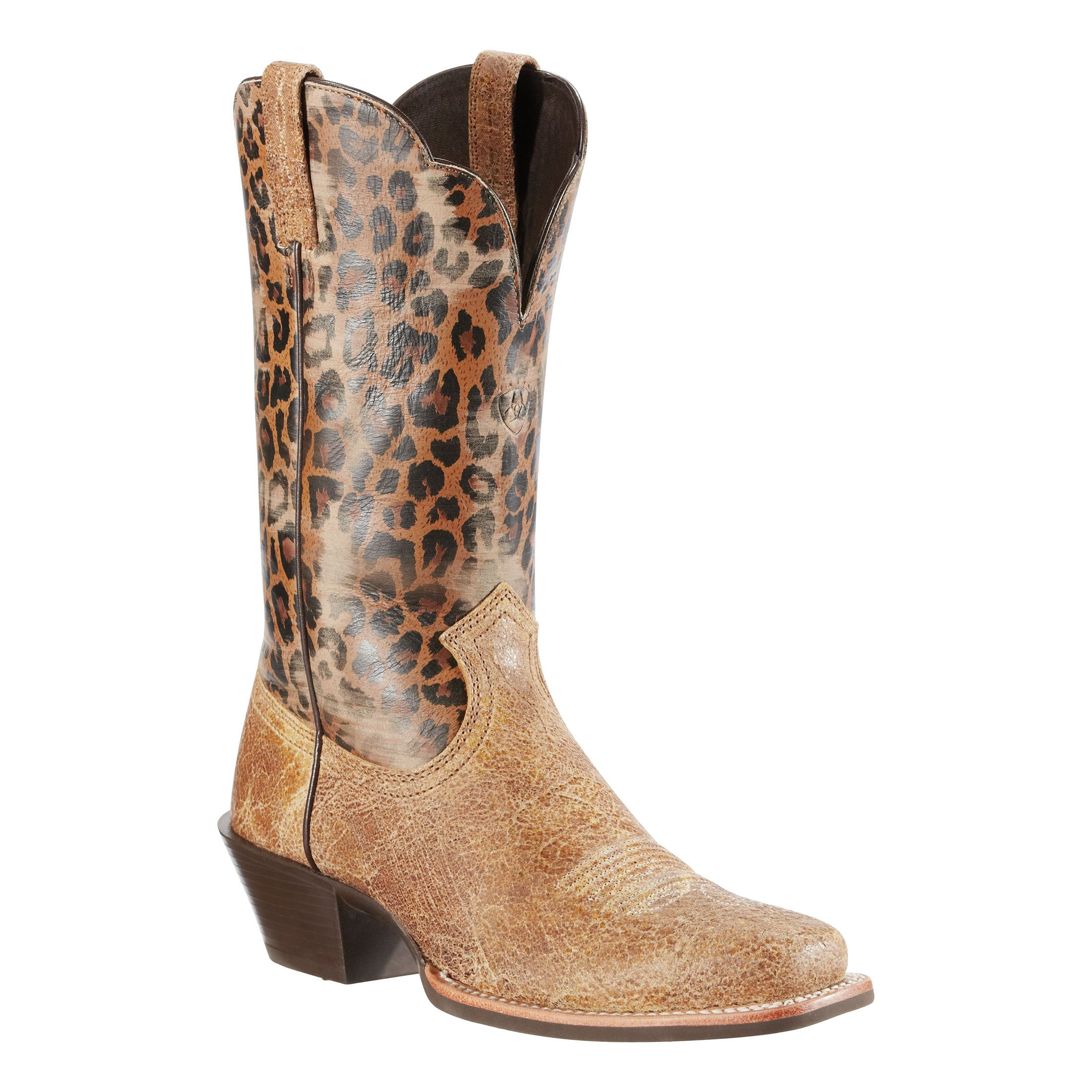 Cheetah Cowgirl Boots Oh My Gosh So Weird You Said You Wanted A Pair Today Well Here You Go Olivia Preston Cheetah Boots Boots Western Boots