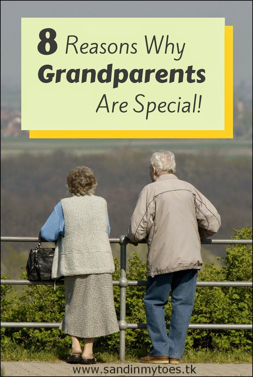 A look at what makes Grandma and Grandpa special to your ...