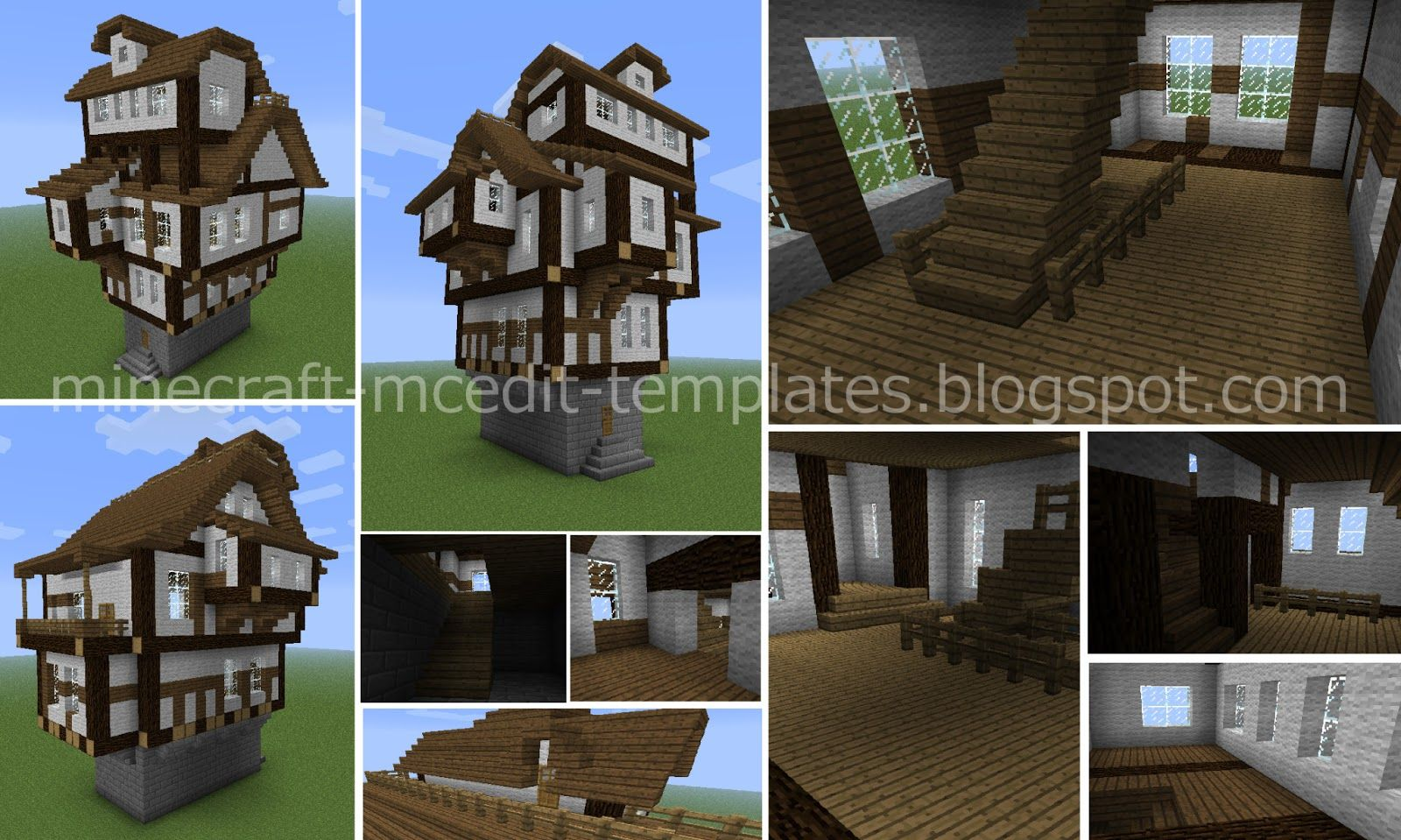 Medieval House Empty MINECRAFT Pinterest Medieval