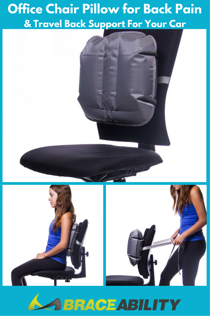 office chair pillow for back pain u0026 travel back support for your car sitting