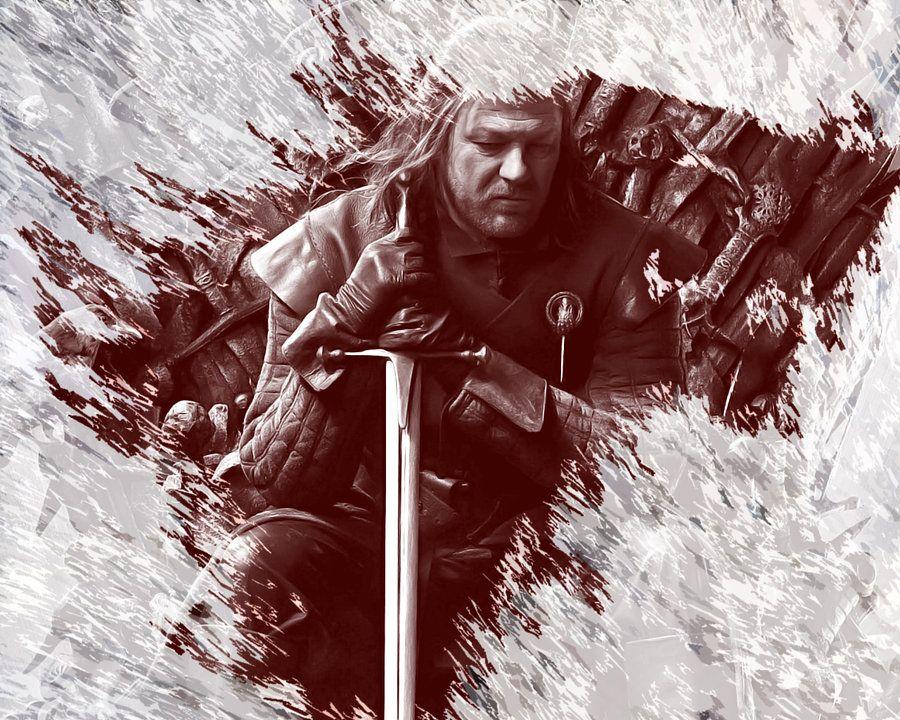 Resultado de imagem para game of thrones ned stark