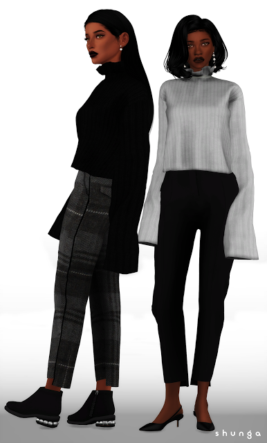 f82c38e75f7 Sims 4 CC s - The Best  Clothing by Shunga