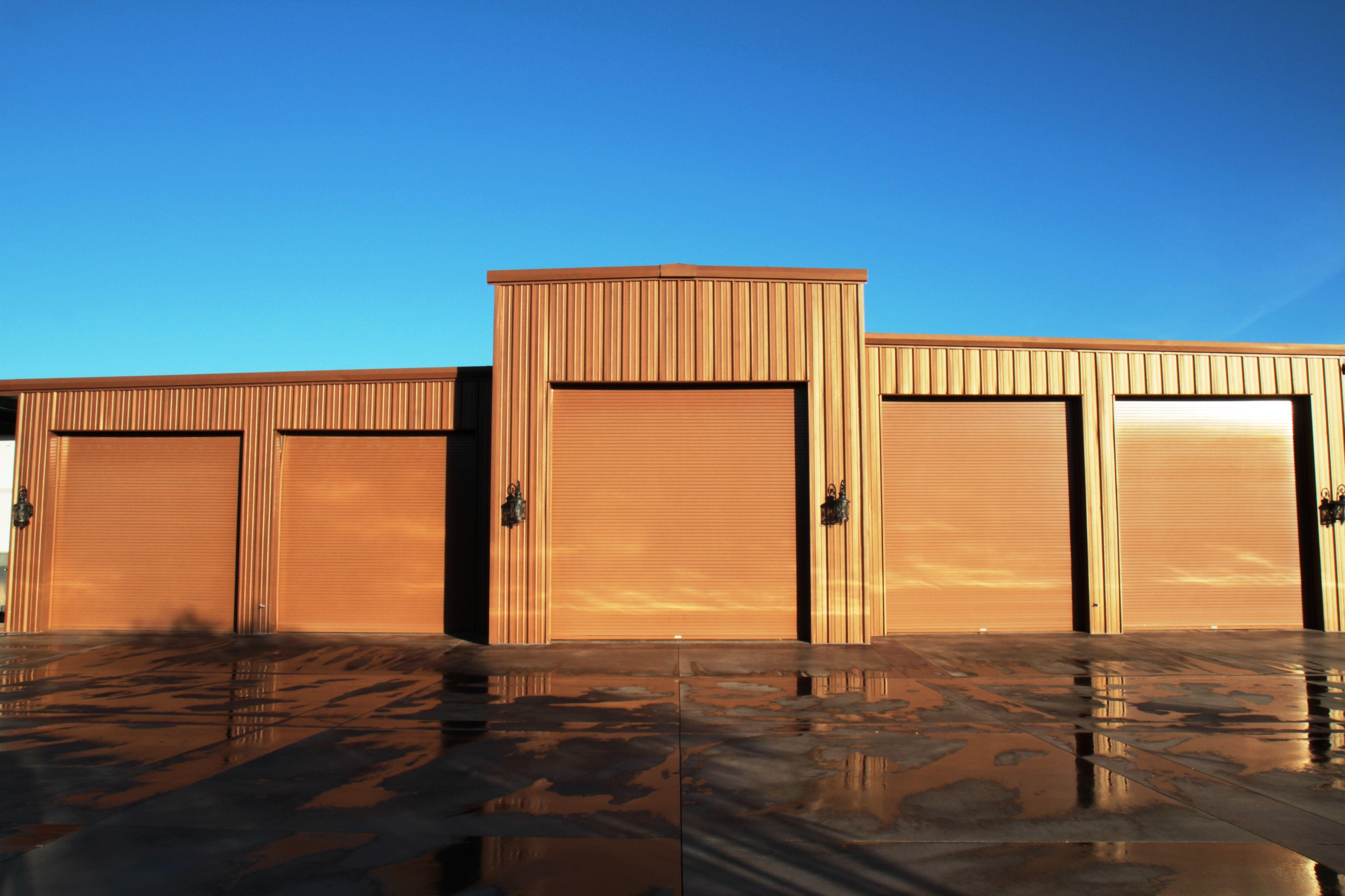 45 years of steel buildings by Bunger Steel. steelgarage