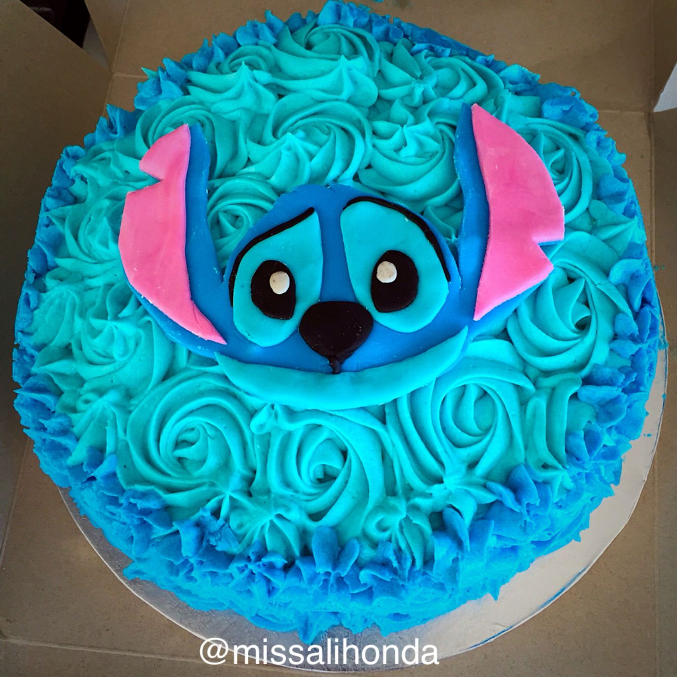Lilo And Stitch Cake My Baking Creations Pinterest Stitch Cake