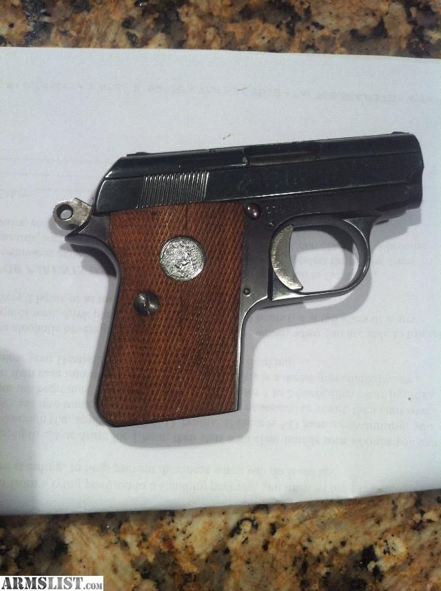 colt junior 25 serial number