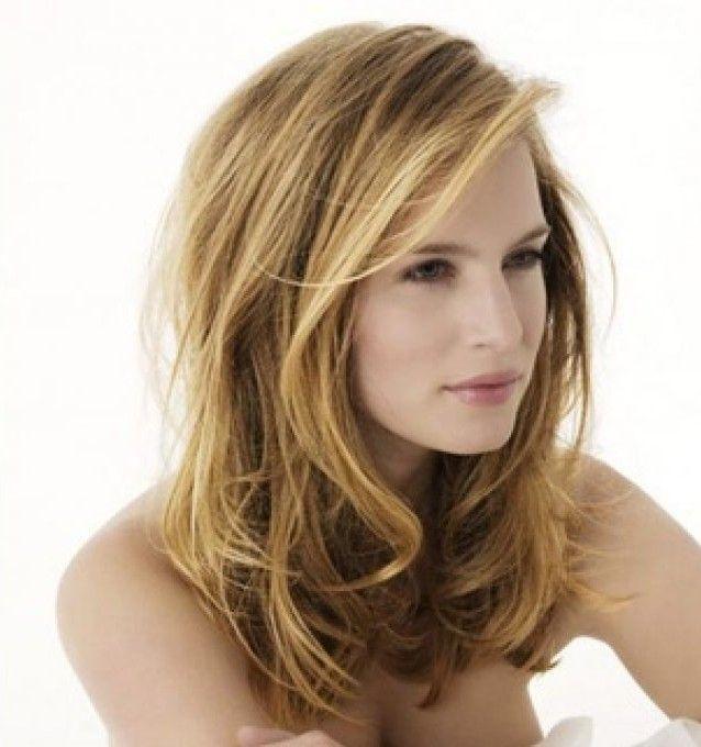 coupe de cheveux mi long dégradé - Recherche Google | Coiffure et ...