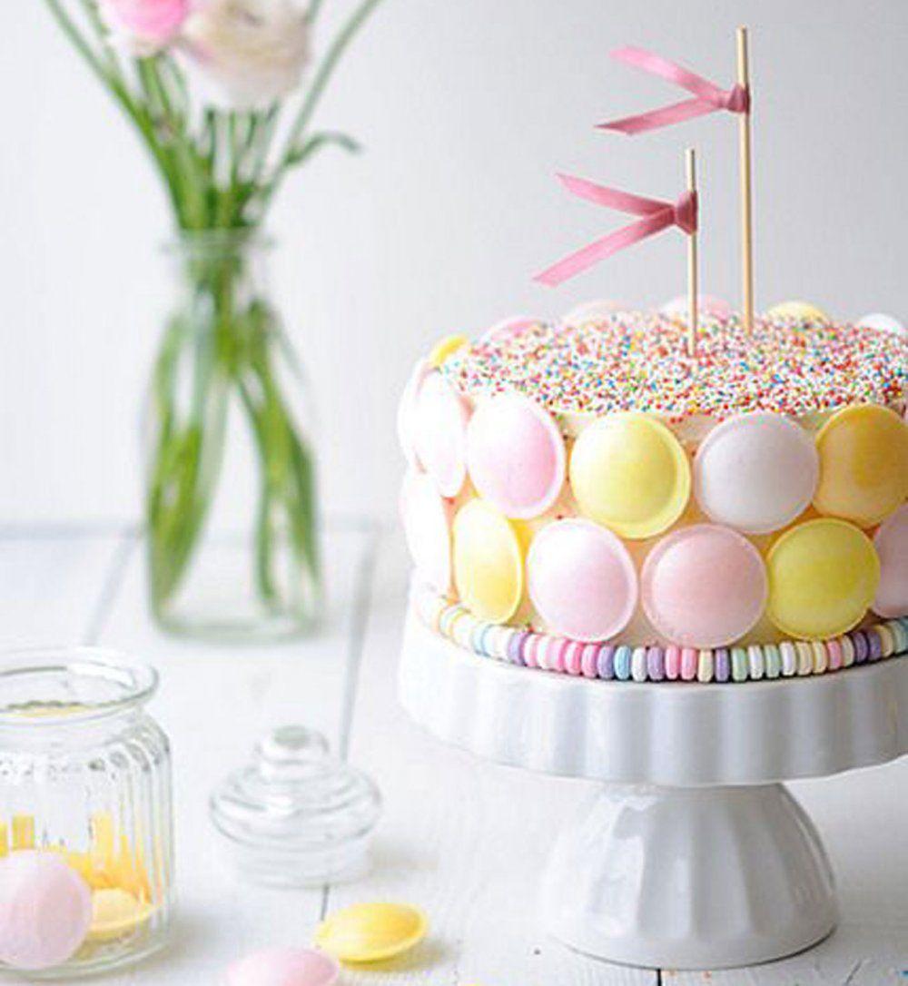 10 recettes de candy cakes pour une double dose de - Que mettre dans un gateau de couche ...