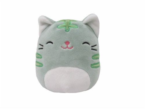 foto de Shop for Squishmallows Cat Stuffed Animal Green at Fred
