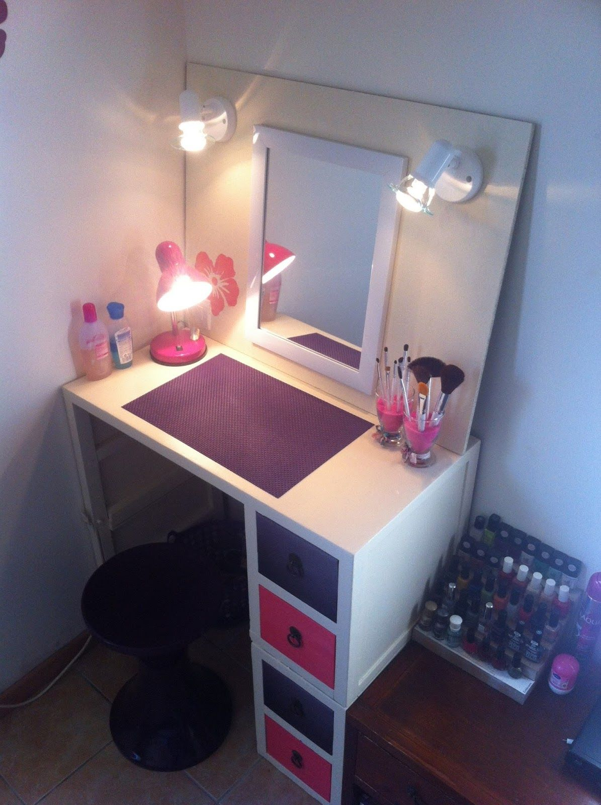Coiffeuse Idees De Coiffeuse Idee Deco Chambre Coiffeuses