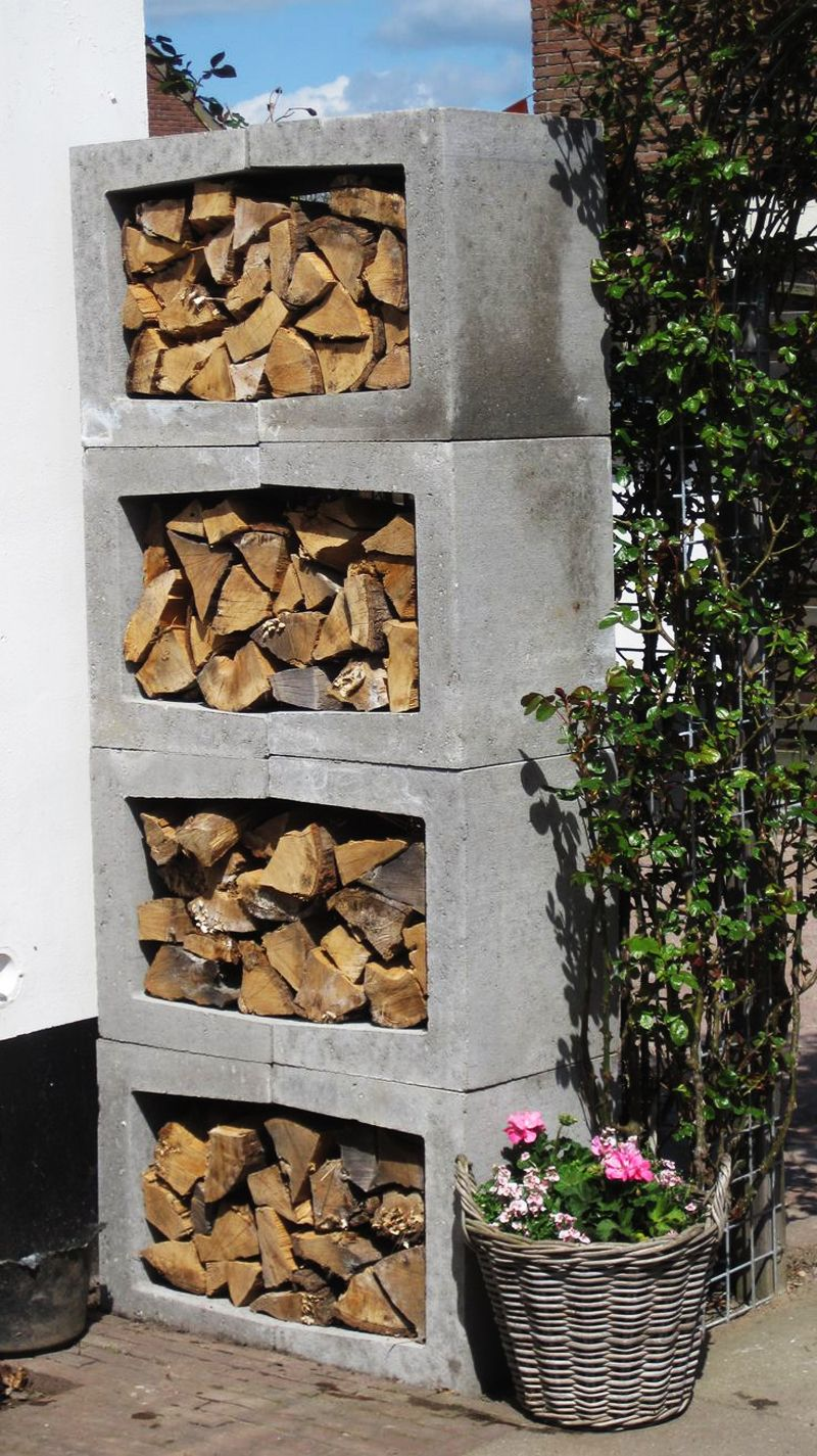 Outdoor Firewood Rack 25 Ideas Of Storing Wood Smartly Wood Outdoor Firewood Rack