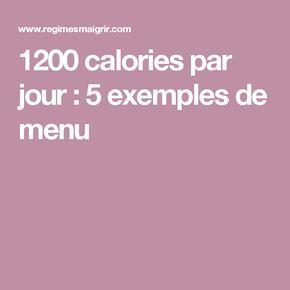 1200 calories riche en protéines