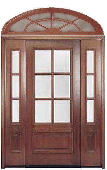 Entrance Door With Sidelights | Door Designs