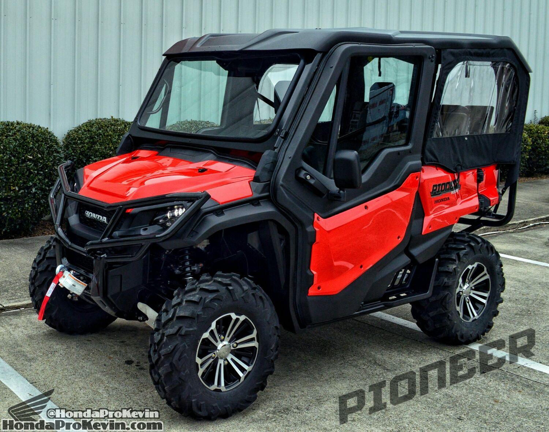 Honda Pioneer 1000 5 Deluxe 9 000 In Accessories Video Pictures 29 Tires More Honda Pioneer 1000 Honda Atv