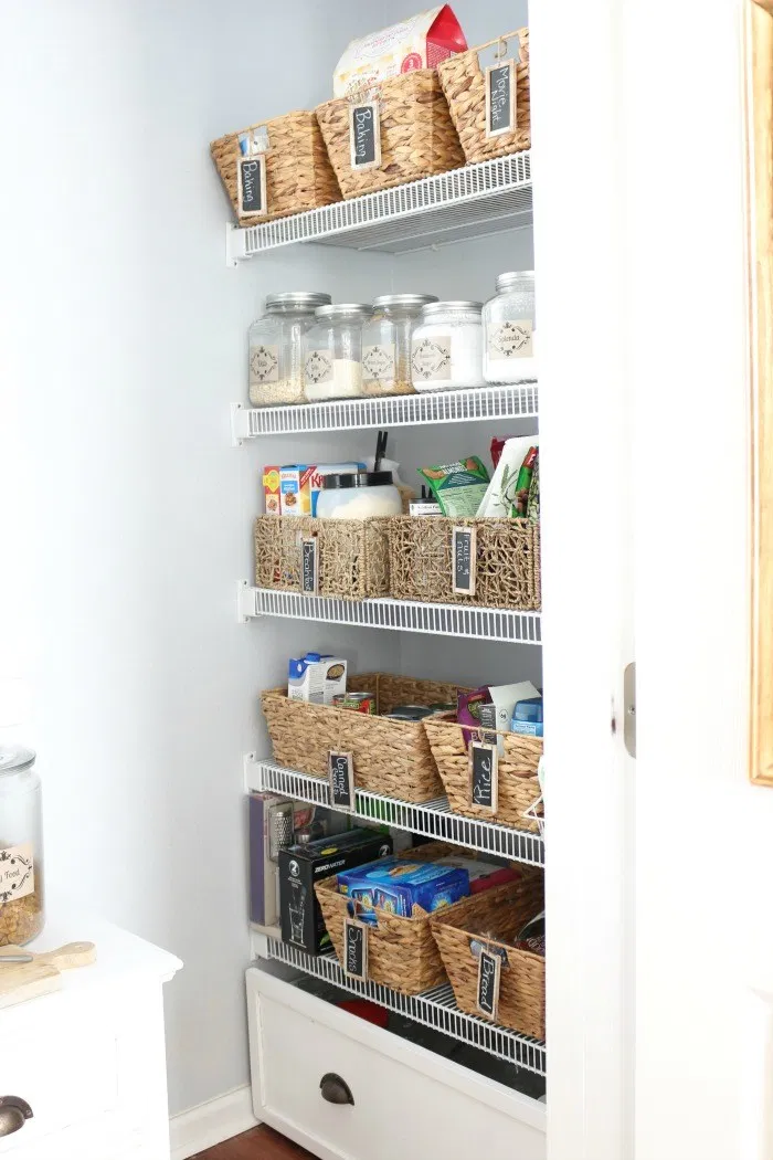 15 Ways To Decorate With Baskets For Fall The Crowned Goat Rangement