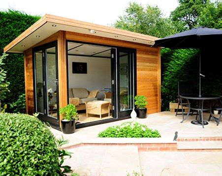 Building An Outside Office Materials   Google Search | Outdoors | Pinterest  | Garden Office, Outdoor Office And Office Spaces