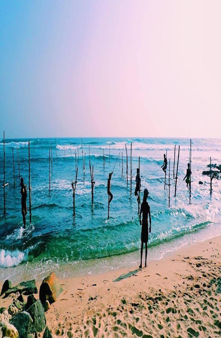 A guide to the Stilt Fishermen of Unawatuna, Sri Lanka