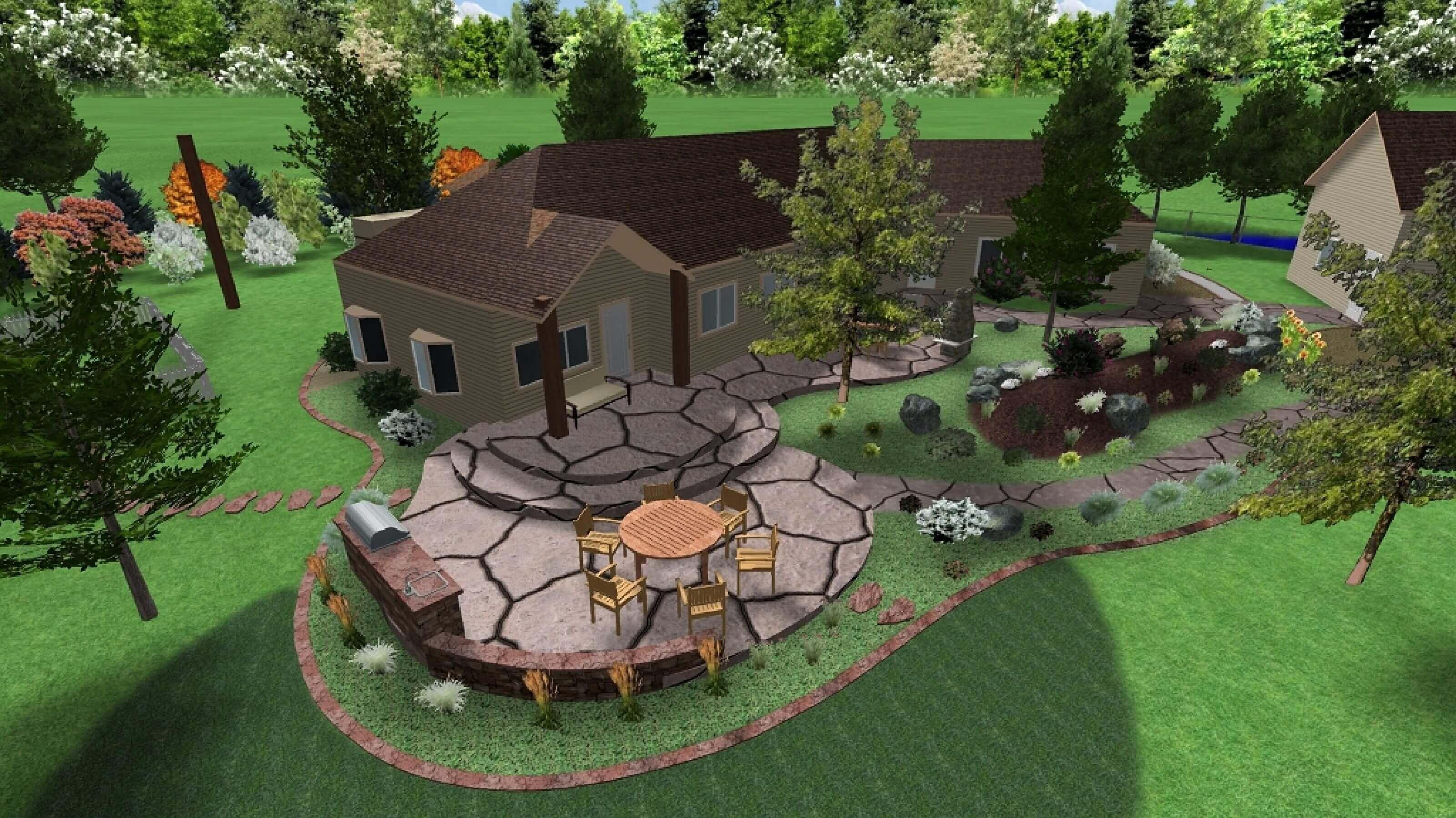 Pin By Online Landscape Designs On Landscape Designs Landscape Design Landscape Design Services Online Landscape Design
