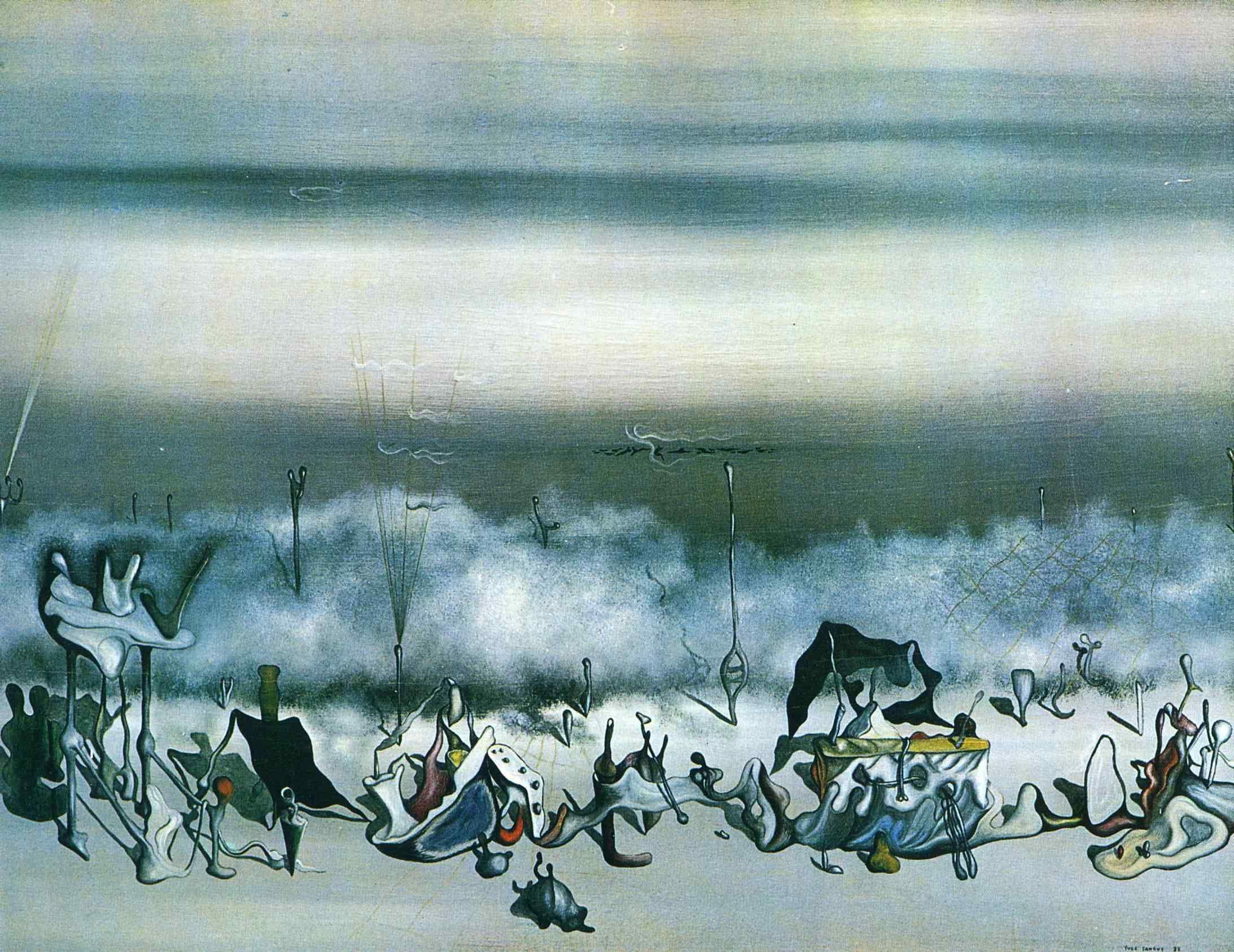 Yves Tanguy シュルレアリスム アート