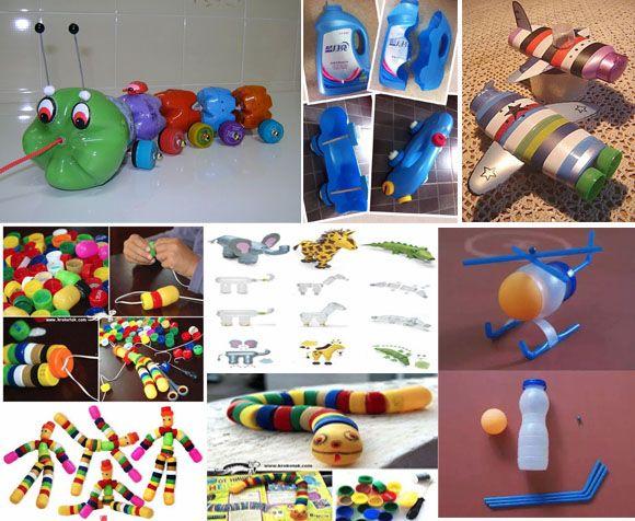 9 Ide Kreatif Membuat Mainan Anak Dari Barang Bekas Kerajinan