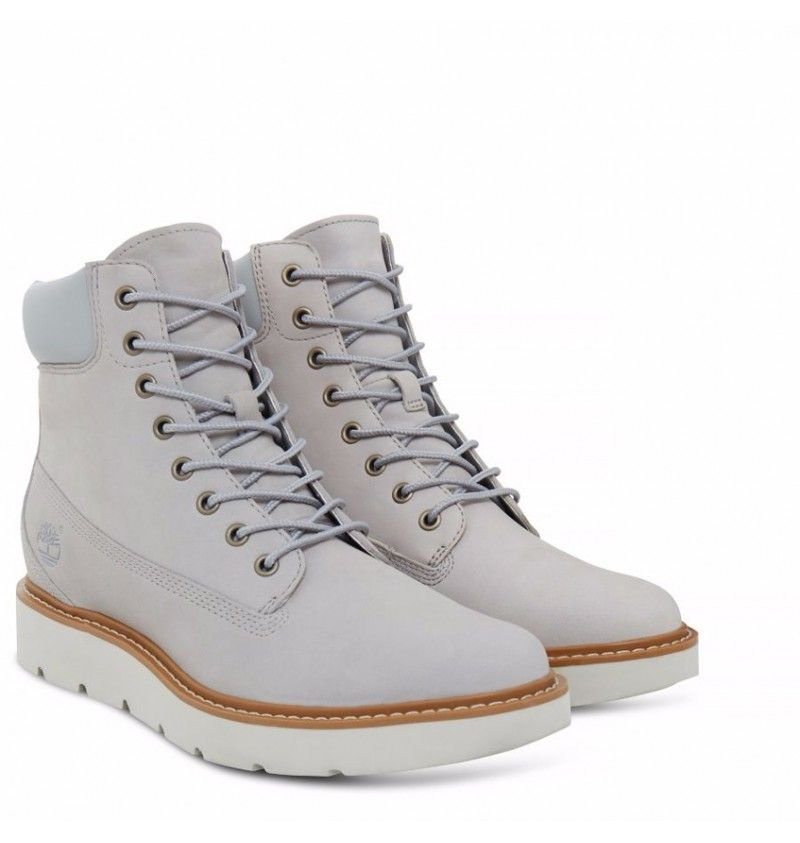 Timberland A1GY6 - Kenniston 6-inch Lace-Up Boot - Light grey nubuck