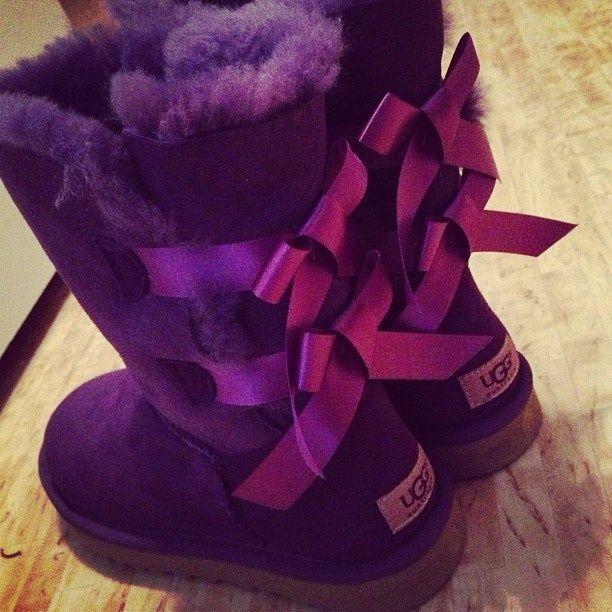 uggs femme violet