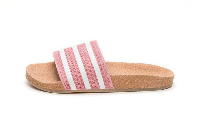 adidas' New Adilette Cork Slides Are Adorable in Pink in 2019 ...