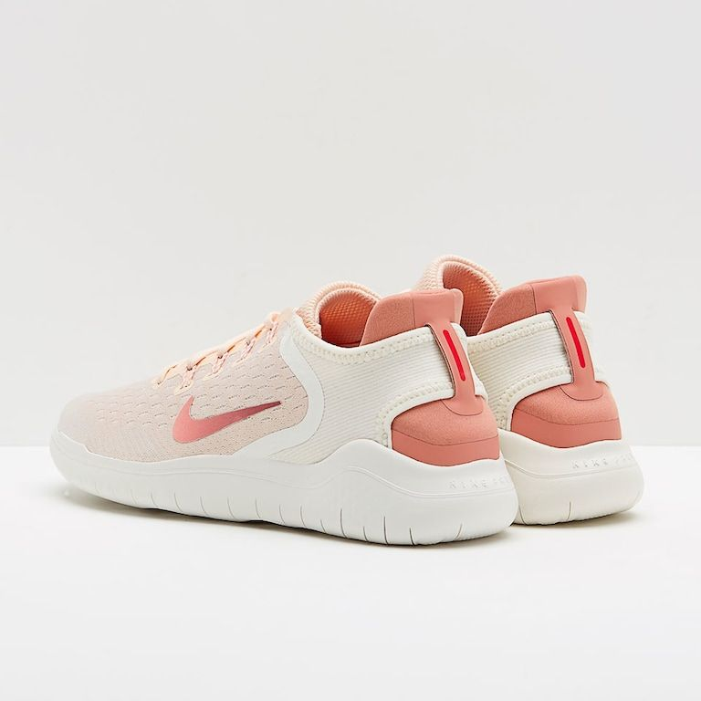 26c9faac944e Nike Womens Free Rn 2018 - Guava Ice Rust Pink Sail Pink Tint in ...