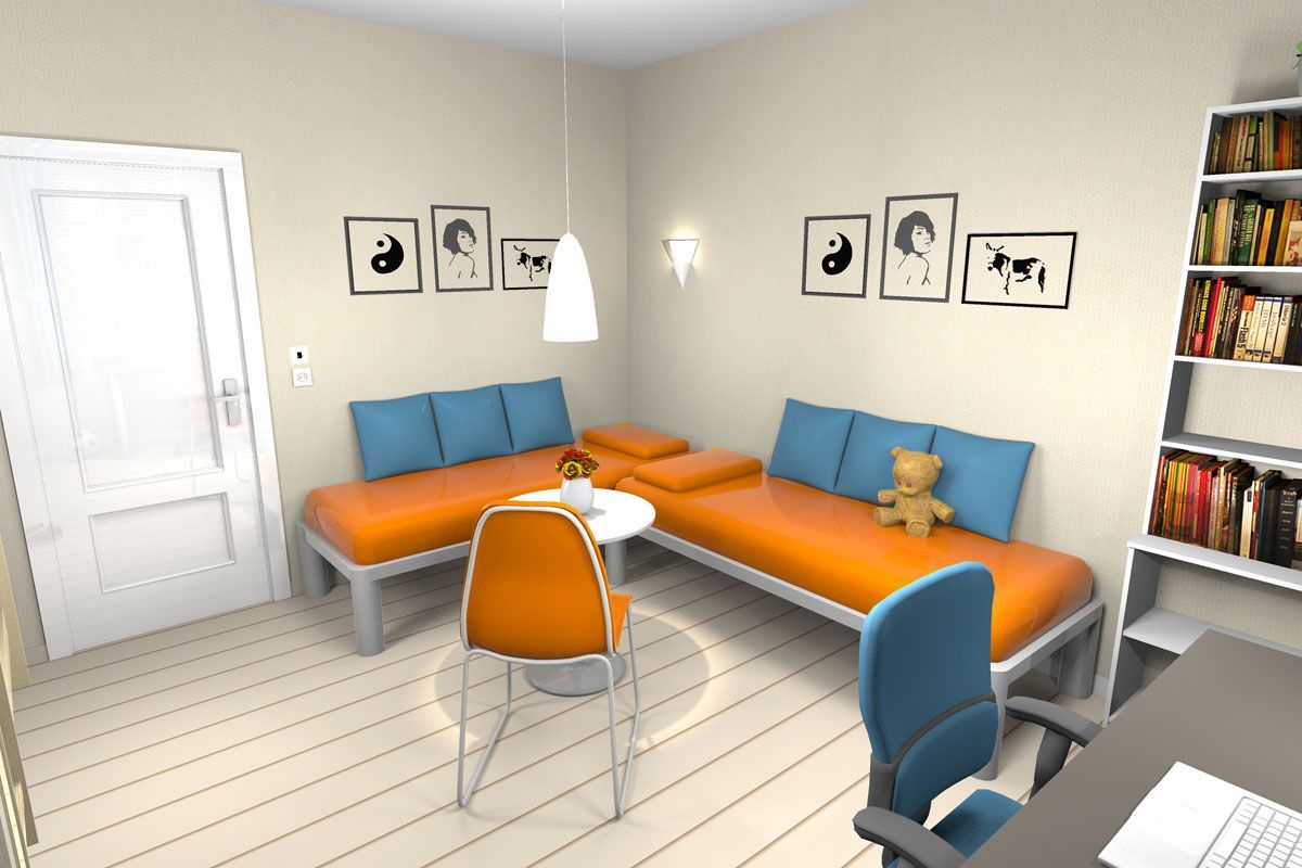 Sweet Home 3d Sweethome3d Salle De Jeux Salle