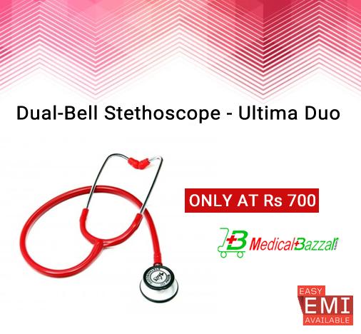 Dual-Bell Stethoscope, a sleek looking #Stethoscope @ Best Price - https://goo.gl/5g6hq5