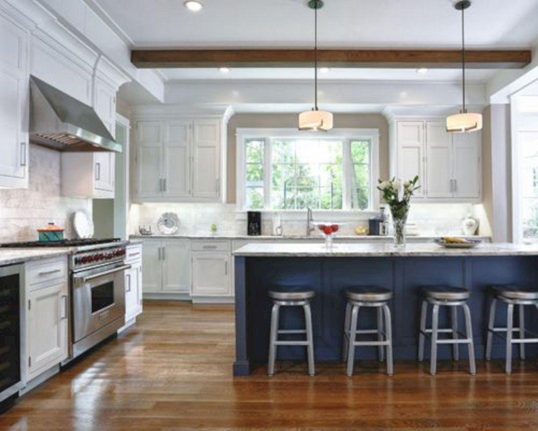 25 elegant white kitchen navy island ideas kitchen design kitchen remodel farmhouse style on farmhouse kitchen navy island id=29548