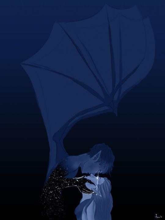 Feyre X Rhysand By Arielstauffer Cosmic Love Feysand Acomaf A