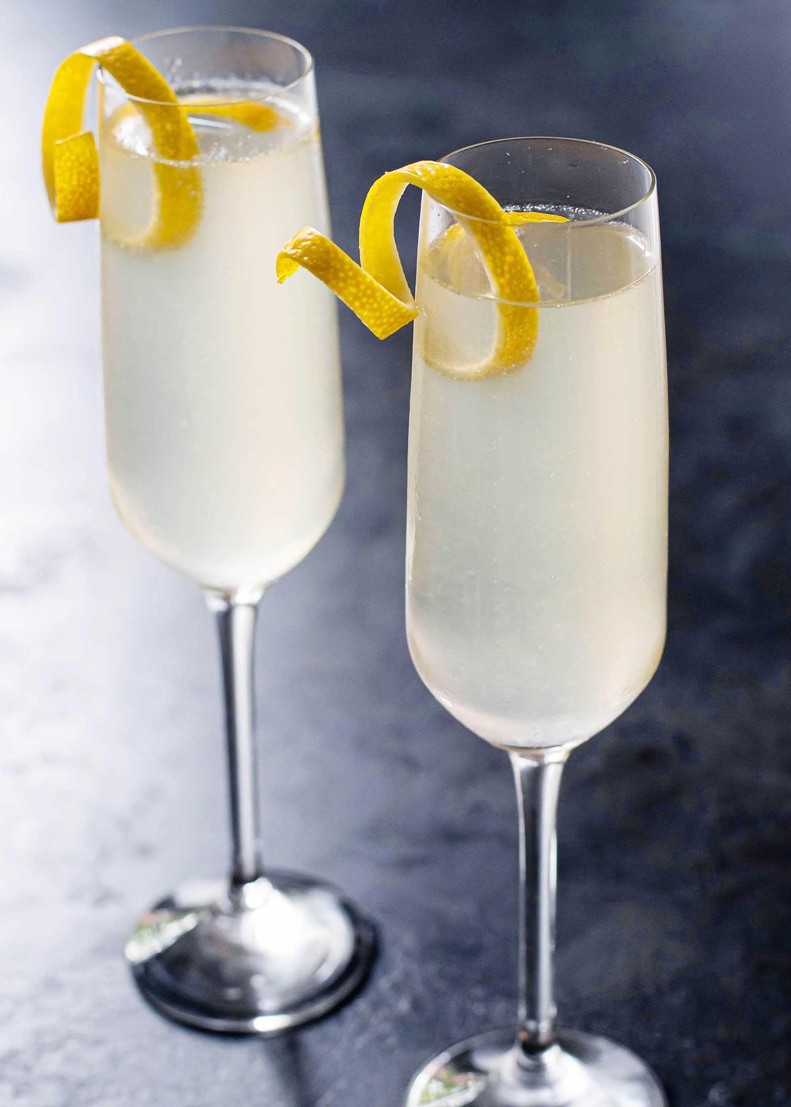 Photo of French 75 Cocktail Recipe | SimplyRecipes.com
