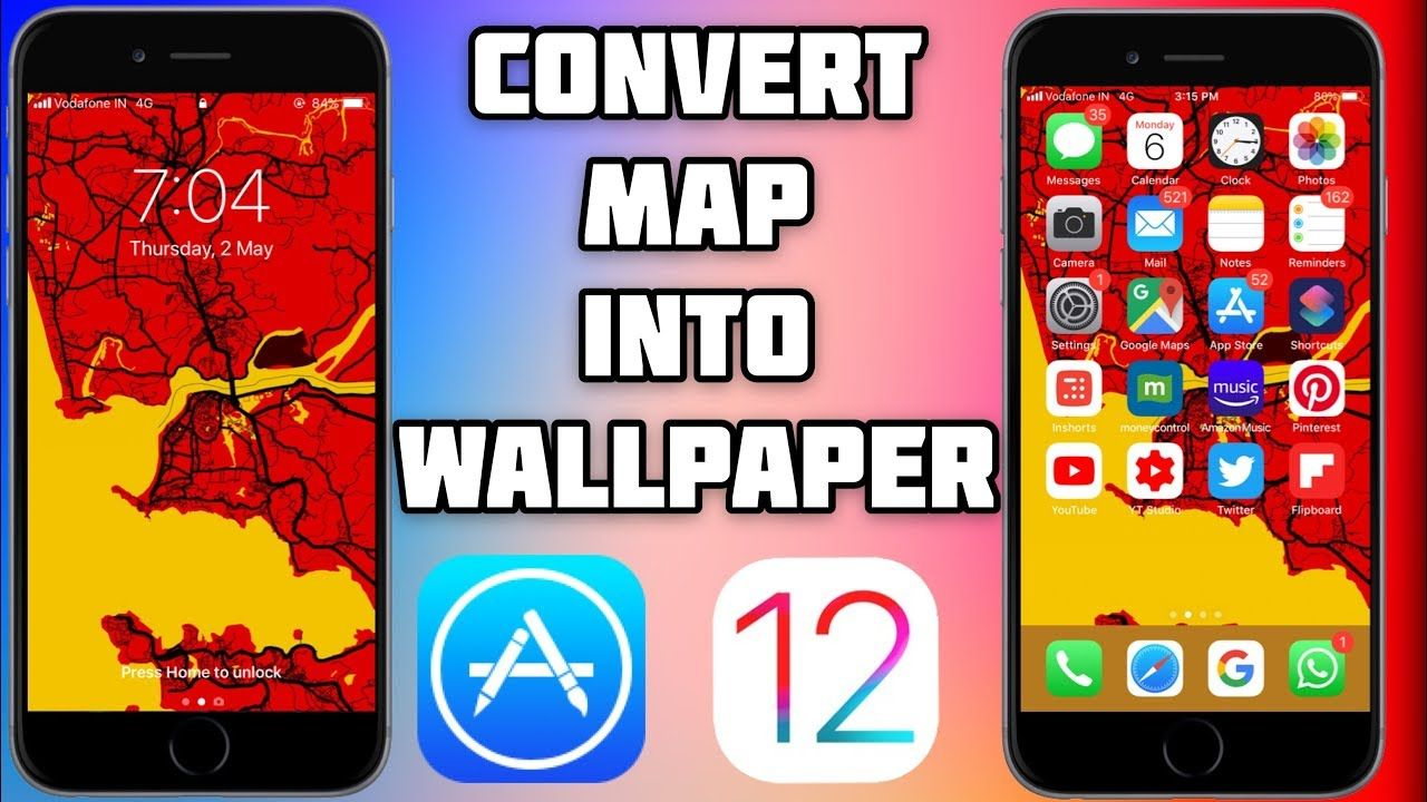 Convert any Location Map into beautiful Wallpapers Best