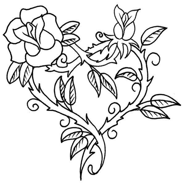 Imagenes De Rosas Para Dibujar Search Paginas Para Colorear De Flores Como Dibujar Rosas Dibujos En Tela