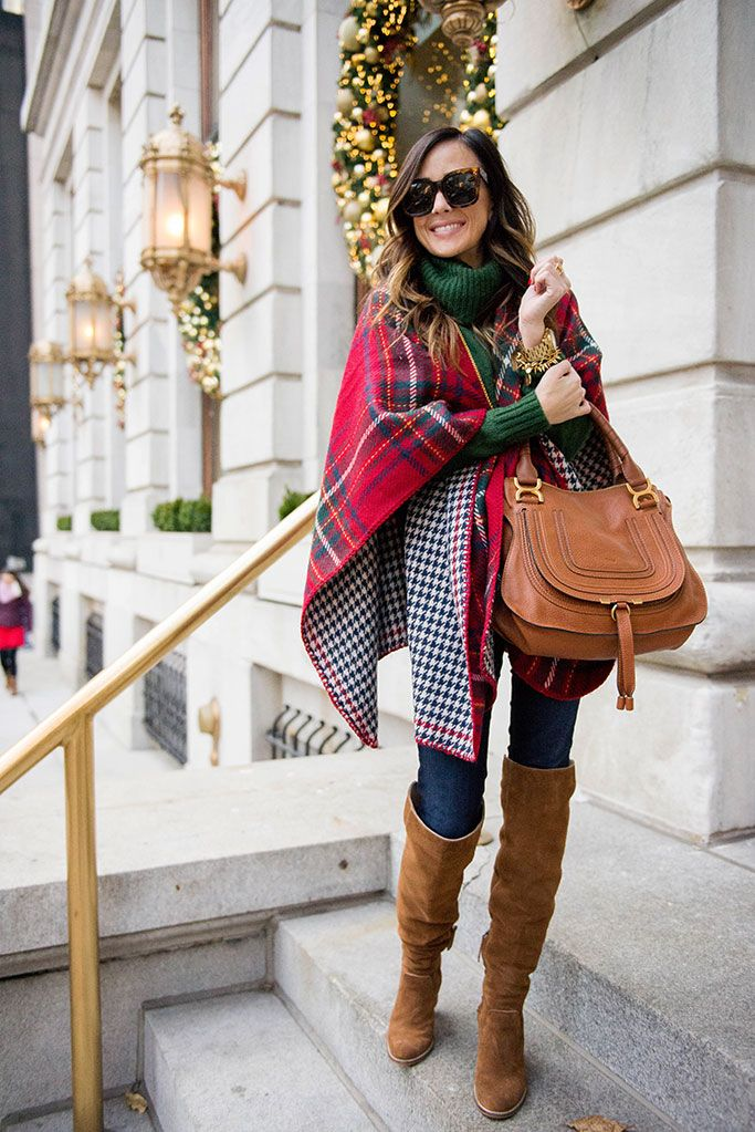 winter outfit | new york city - CHRISTMAS DAY OUTFIT INSPIRATION AlysonHaley.com STYLE