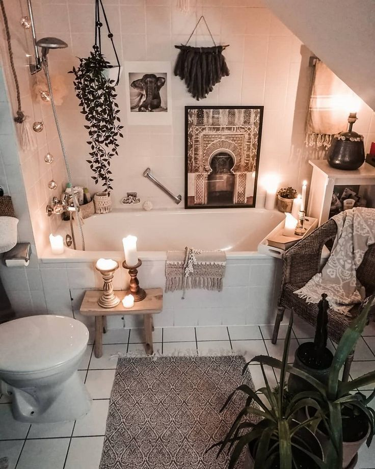 Photo of Bohemian Home Decor Design – #Bohemian #decor #Design #Home #salledebain