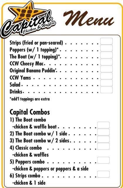 Capital Chicken Waffles Dc Food Truck Food Truck Fiesta A Real